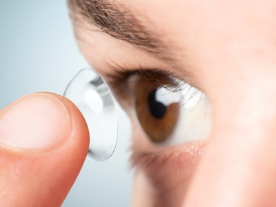 Home office altera validade das lentes de contato
