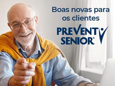 Agora atendemos clientes Prevent Senior
